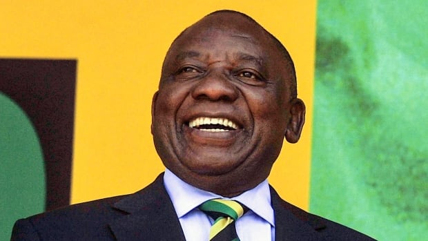 Cyril Ramaphosa Elected South Africas New President  Cbc