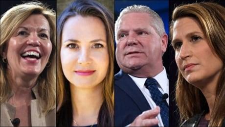 Toronto PC leadership candidates