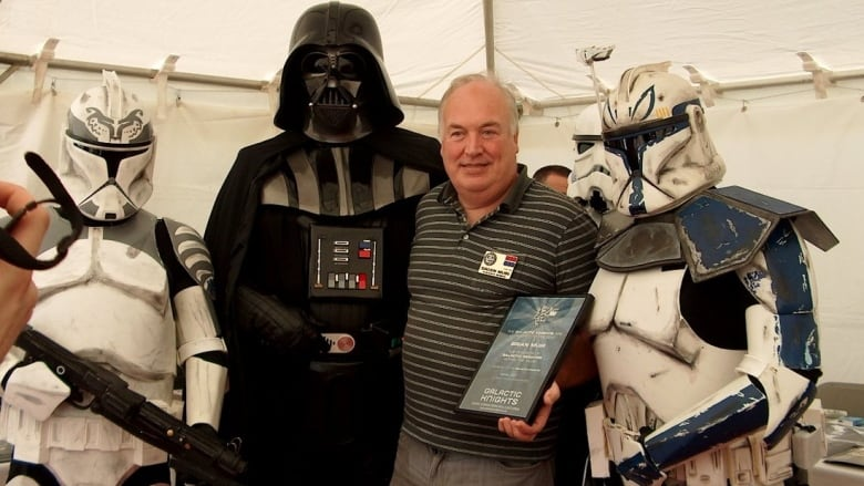 Maker of Darth Vader's original mask a special guest at Charlottetown expo