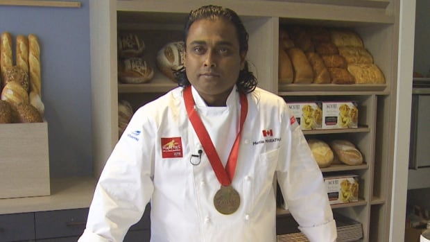 This Mississauga man's talent for making bread landed him in 'the Olympics for baking' | CBC News