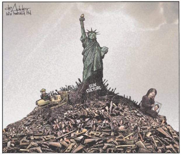 U.S. School Shootings Are Now So Common Political Cartoons