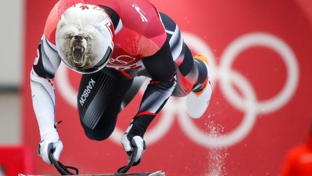 Barrett Martineau Canada Men's Skeleton 2018 OLYMPIC GAMES