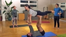 Acro-yoga in Charlottetown at Dynamic Fitness
