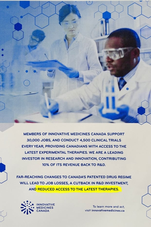 Innovative Medicines Canada ad