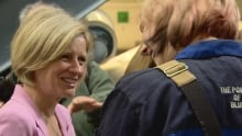Notley and student