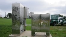 Graffiti on the Halifax Common