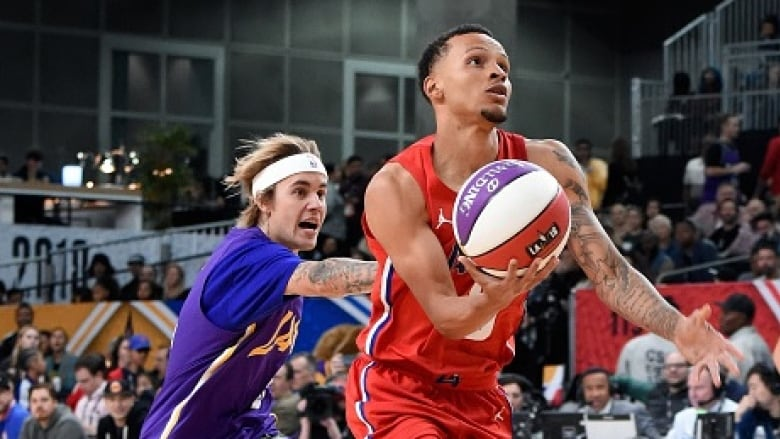 2b3bd4a41 Andre De Grasse shines in NBA All-Star Celebrity Game