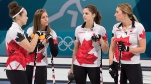 Closed-door meeting helps Rachel Homan's team get 1st Olympic win