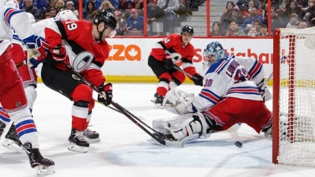 Brassard leads Senators past Rangers
