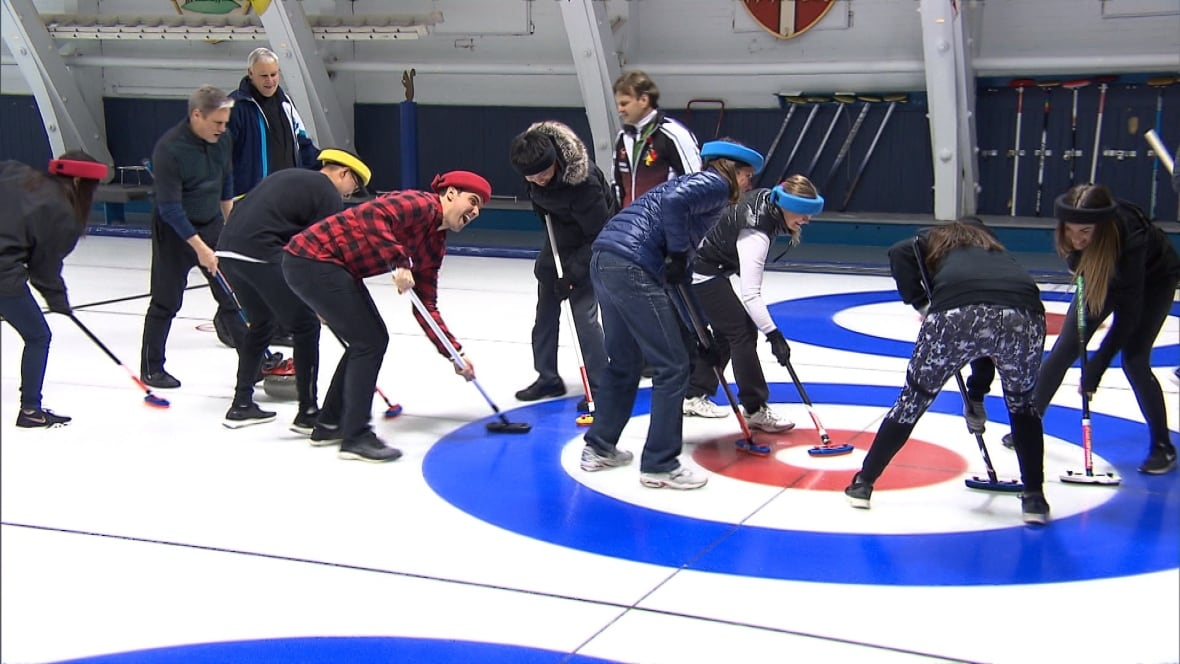 The Olympics have created a buzz around curling, even among unlikely characters