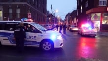 Beaudry St. police