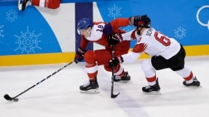 Watch Olympic Overnight on CBC, featuring men's hockey