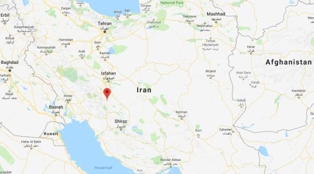 Iran crash
