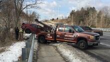 Ellesmere Road car crash
