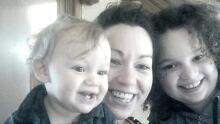 Nadine Duffney and her children