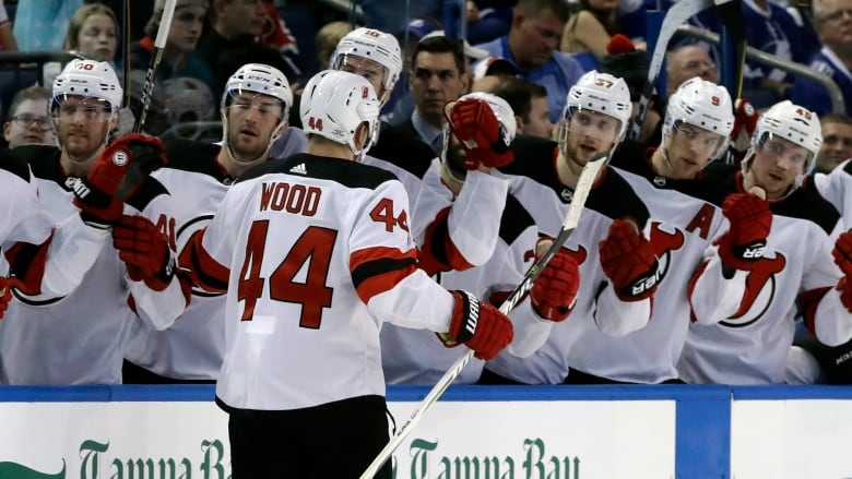 super popular aa0aa d4b9d Devils' Miles Wood suspended 2 games for boarding incident ...