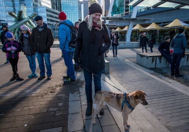 Birgit Leuck Vancouver Housing Rally Sunday Feb 18 2018