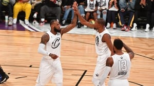 LeBron James leads team to victory at NBA All-Star Game