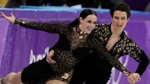 Virtue, Moir shine in ice dance showdown with French duo