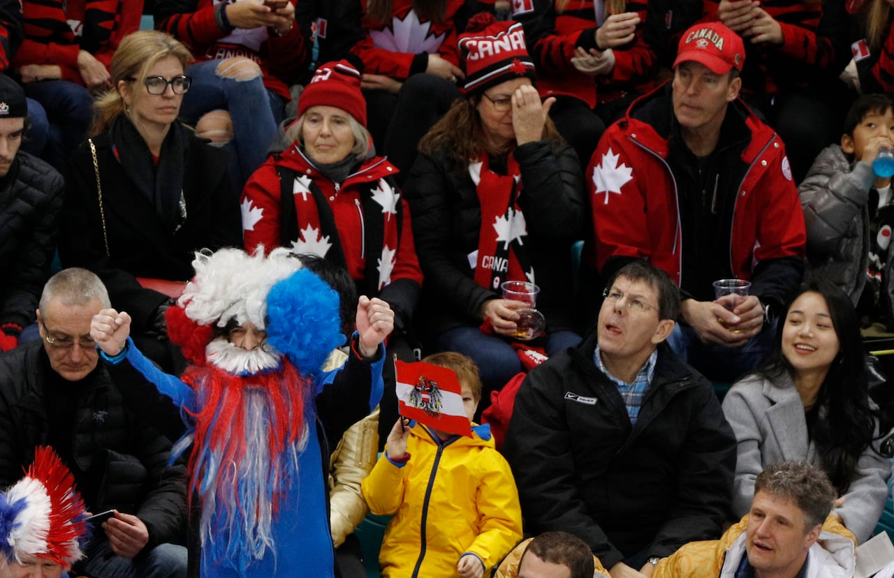 3b74a8b1a64 Rink rescue  RCMP officer helps save Korean boy s life at Olympic hockey  game