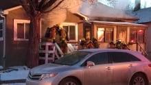 Fire in Regina