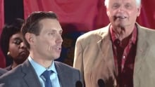 Defiant Patrick Brown officially launches campaign
