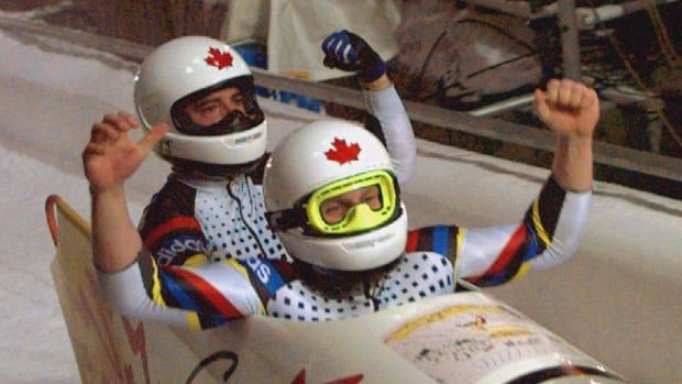 MEN'S DOUBLE BOBSLED