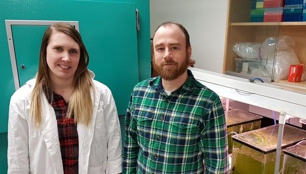 Sarah Warrack and Mark Hanson, University of Manitoba researchers