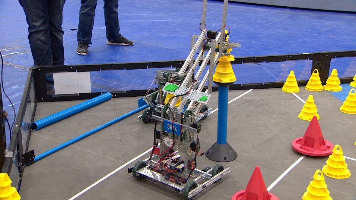 Alberta high school students face off at Edmonton robotics ...