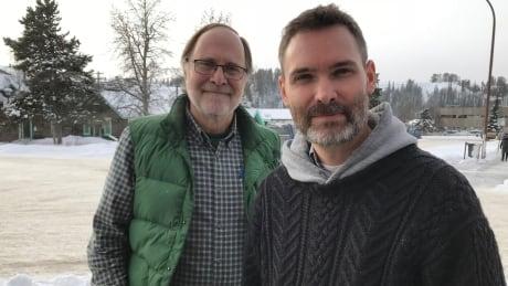 Barrett Horne and Michael Pealow