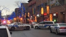 downtown stabbing