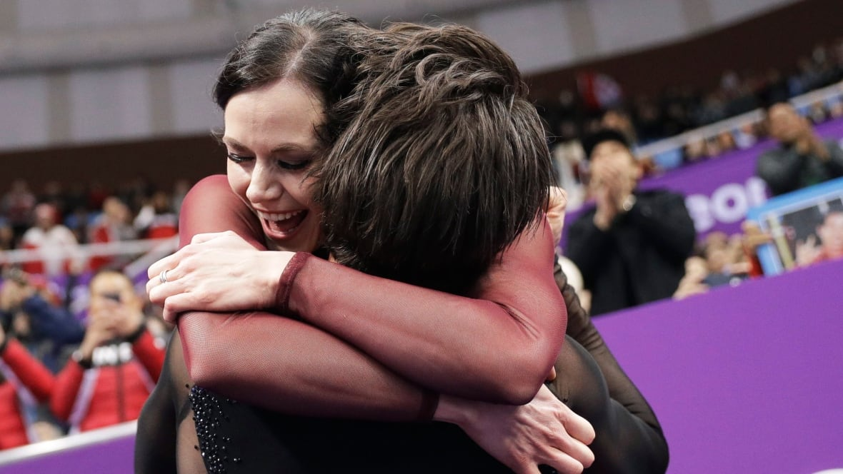 'Just say you're in love already!' Virtue and Moir capture gold and our hearts in Olympic career finale