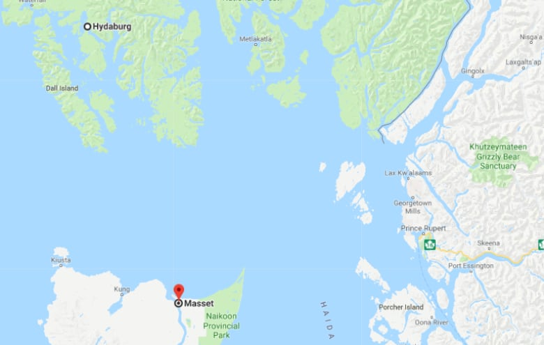 Haida People Shouldnt Need Permission To Cross Canada Us Border - Google-maps-canada-us-border