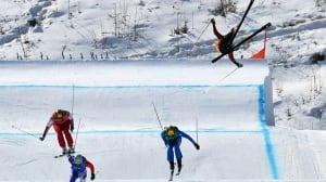 Canadian Chris Del Bosco suffers serious crash in men's ski cross