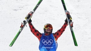 Canada's Brady Leman speeds to ski cross gold