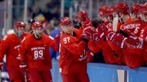 Watch Olympic Overnight on CBC, featuring men's hockey quarter-finals and cross-country skiing