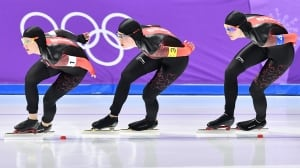 Watch Olympic Morning featuring speed skating
