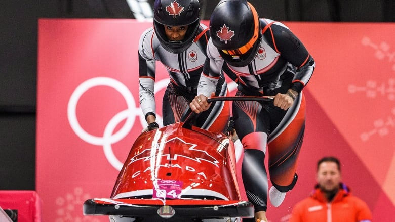 Kaillie Humprhies's Olympic gold-medal reign ends in bobsleigh   News   CBC Olympics   PyeongChang 2018