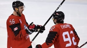 Canada edges Finland to reach men's hockey semifinals
