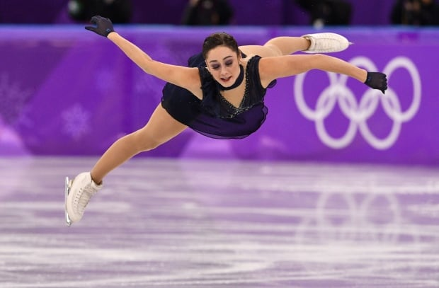 Kaetlyn Osmond in medal contention in Olympic women's figure skating