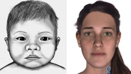 dna technology used to sketch mother of baby found dead in calgary dumpster
