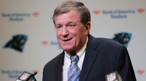 Panthers re-hire Marty Hurney as full-time GM after harassment probe