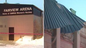 Fairview arena collapse Calgary
