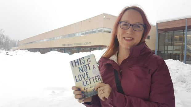 Kim Purcell has returned to Prince George to explore the loss of her high school friend, whose disappearance is fictionalized in her new book, This Is Not A Love Letter.