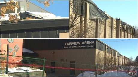 Fairview Arena collapse
