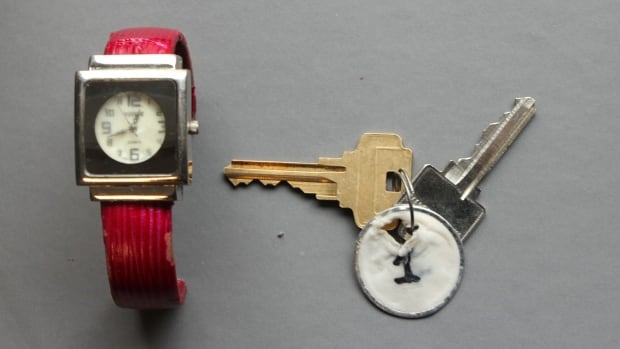Windsor Police released this photo of a watch and keys belonging to a deceased woman who was recovered from the Detroit River on February 20, 2018. Police are seeking the public's assistance to identify her.