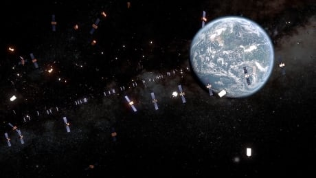 Satellites geostationary orbit