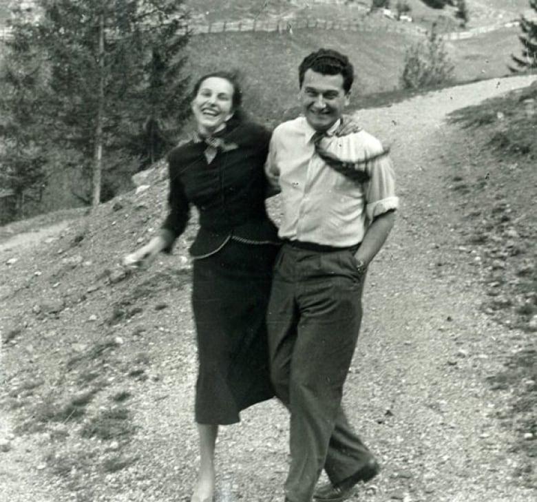 Sonja And Thomas Bata Engagement Photo Spring Or Summer  Bata Shoe Museum
