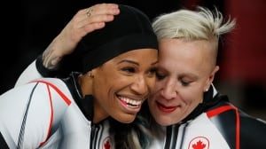 Kaillie Humphries isn't done punctuating her legacy