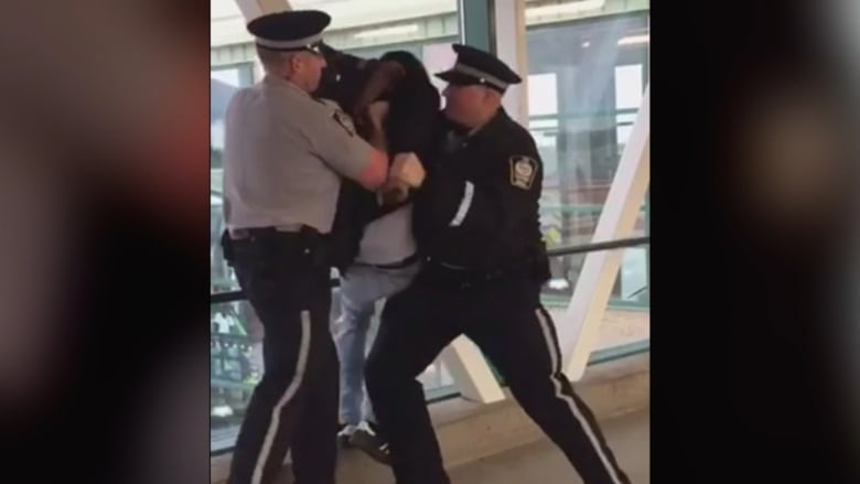 Edmonton Transit Officer Resigns After Allegations Of Excessive Force Racial Profiling By Black Teen Cbc News